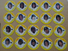 1984 Cain's MLB BASEBALL DETROIT TIGERS WORLD CHAMPIONS 20 DISCS CARD SET