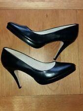 Next Black court shoes - size 8 - black