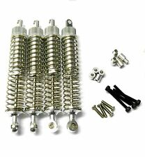L370 1/10 Scale Buggy Alloy Adjustable Shock Absorbers Dampers 70mm Silver x 4