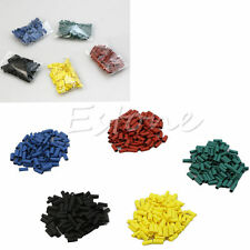 500 Pcs Heat Shrink Wire Wrap Sleeve Car Electrical Cable Tube Tubing Polyolefin