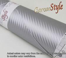 3D Carbon Fibre Vinyl 1m(39.4in) X 1520mm(59.8in) Bubble Free Wrap Film Sticker