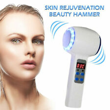 Hot/Cold Hammer and Massage Blue Light For Treatment Face Skin Beauty Machine