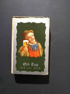 Old Tap Fall River Enterprise Brewing Co Pack Playing Cards Ale Beer