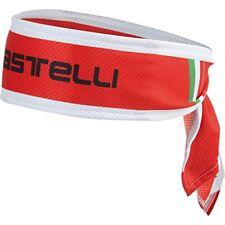 Chapeaux, casquettes et bandeaux rouges Castelli pour cycliste