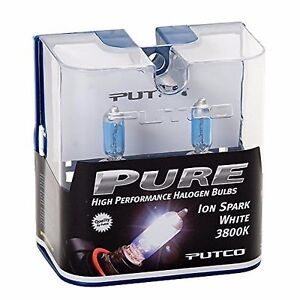 Putco 3800K Iron White H8 230008SW 35W Two Bulbs Fog Light Replacement Lamp Fit