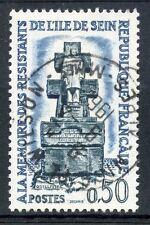 STAMP / TIMBRE FRANCE OBLITERE N° 1337 RESISTANCE ILE DE SEIN
