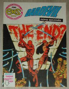 Daredevil / Elektra / Eks almanah 390 / Yugoslavia 1984 / Frank Miller