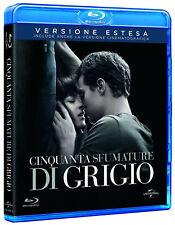 50 CINQUANTA SFUMATURE DI GRIGIO (BLU-RAY) Versione Cinematografica + Estesa