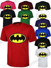 Batman T-Shirt Top Classic DC Comics Super Hero Comic Gift T Shirt GF TSHIRT New