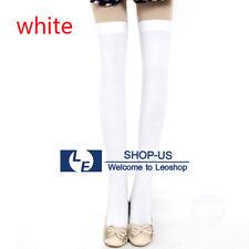 0e5e4e3bc1b Womens Lady Girls Fashion Opaque Thigh High Over Knee Socks Long Stockings  Green