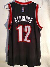 Adidas Swingman 2015-16 NBA Jersey Portland Trailblazers Aldridge Black sz XL