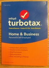 Intuit TurboTax Home & Business 2017 Federal+Efile+State Turbo Tax Software