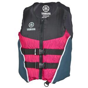 Yamaha Women Neoprene/Nylon Combo PFD Pink