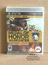 Medal of Honor: Warfighter Project Honor Edition (Sony PlayStation 3, 2012) NEW!