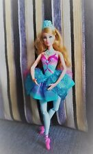 Lovely Barbie in the Pink Shoes Pretty Ballerina Blue Giselle doll red-haired