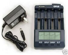 US BT-C3400 V3.1 Battery Charger Analyzer Tester Li-ion AA AAA NiMH NiCd 18650