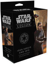 Iden Versio and ID10 Commander Expansion Star Wars: Legion FFG NIB