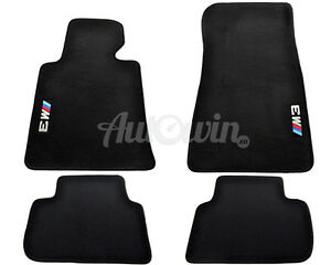 Floor Mats For BMW M3 Series E36 With M3 Emblem LHD Side with Clips