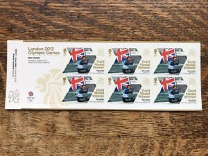 London 2012 Olympic Games, Ben Ainslie Stamps, MNH