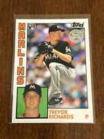 2019 Topps Baseball '84 Topps Rookie - Trevor Richards RC - Miami Marlins