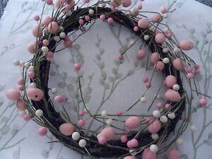 Easter Wreath Birds Egg Design