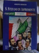 Musolino S. STEFANO IN ASPROMONTE 5 patrioti 1 ragazzo e la bandiera ed. 2013