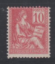 FRANCE MOUCHON TYPE II yt 116  N** TTB 10C ROSE cote 175€ TTB
