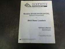 Erskine 2010x 2410x 2410xl Hydraulic Snowblowers Operators Manual 300518