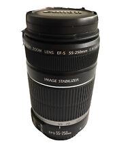 Canon EF-S 55-250mm F/4-5.6 STM Lens