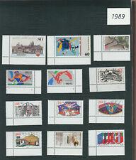 Germany 1989 Commemoratives MNH