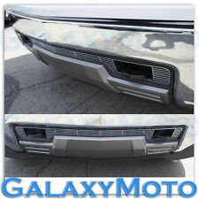 14-15 Chevy Silverado 1500 Chrome Lower Bumper Billet Grille Insert w/ Tow Hook