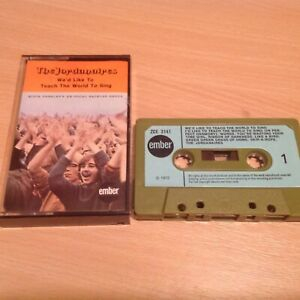 Very Rare The Jordanaires cassette 1972 World to sing, Elvis ex backing group