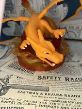 Pokemon Monster Charizard Skill Scene Kids Figure Figurine Anime Toy No Box