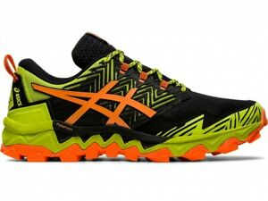 ASICS Running Shoes GEL-FUJITRABUCO 8 1011A668 NEON LIME/SHOCKING ORANGE