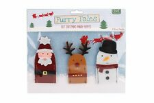 CGB Furry Tales Kids Childrens Christmas Finger Puppets