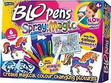 John Adams Blo stylos Spray Magic 6 Duo stylos blopens + Magic Pen coup Airbrush Effect