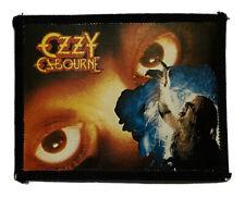 More details for ozzy osbourne - old og vtg 1980`s photo card patch bark at the moon