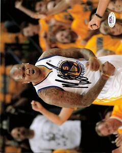 Marreese Speights Signed Autographed 8x10 PSA/DNA Golden State Warriors Champion