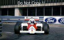 Alain Prost McLaren MP4/3 Detroit Grand Prix 1987 fotografía 3