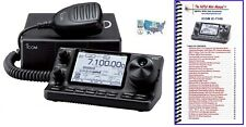 Icom IC-7100 Mobile HF/VHF/UHF Transceiver with Nifty! Accessories Mini-Manual