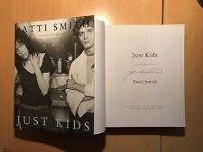 Patti Smith Just Kids illustrated Hardback 1st/1st SIGNED NEW