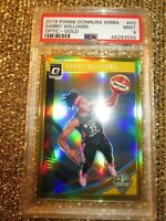 Gabby Williams 2019 WNBA Optic Gold Prizm Holo #8/10 Chicago Sky Uconn PSA 9
