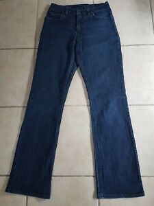 """R M WILLIAMS sz 10/ 12 ladies stretch jeans (28""""girls with booty )Bootcut"""