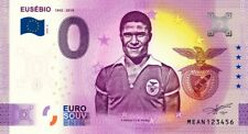Billet Touristique Souvenir 0 euro PORTUGAL 2020-8 Eusébio 1942-2014 SLB