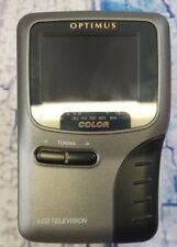 "Optimus LCD Color Mini TV No. 16-181  2.5"" Screen auto tuning - analog signal"
