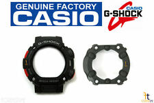 CASIO G-Shock Mudman G-9000-1V Black BEZEL (Top) & Case Back Protector Combo