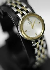 Vintage - Citizen Elegance Signature Sapphire Two-Tone Women's Dress Wrist Watch
