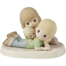 NEW Precious Moments PRECIOUS IS OUR FAMILY Porcelain Bisque Figurine 153023
