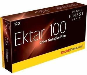 5x Kodak Professional Ektar 100 Color Negative Film (120 Roll Film, 5-Pack)