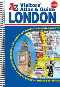 London Visitors Atlas & Guide Geographers' A-Z Map Company Paperback Book